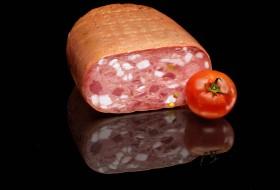 Italian mortadella with prosciutto