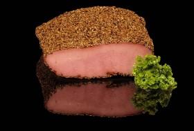 Παστράμι βοδινό με πιπέρι και κολίανδρο