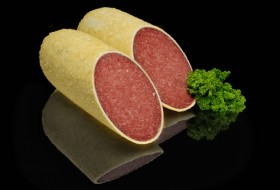 Salami with parmesan Germany